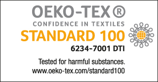 Oeko-Tex post-surgery garments
